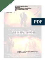 Analisis Pelicula a Prueba de Fuego