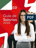Guia de Salarios 2018 Adecco - Mexico