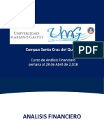 Analisis Financiero, Semana 2