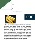 Artikel Tentang Biokimia