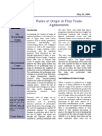 5 Trade Note on Rules of Origin