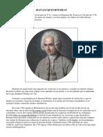 Rousseau Biografía