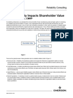 How Reliability Impacts Shareholder Value en 454426
