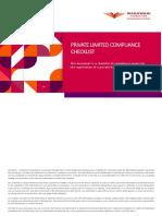 Private Limited Compliance Checklist Templatized V1.2