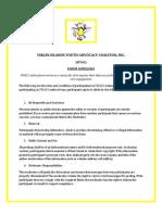 VIYAC (Forum Guidelines)