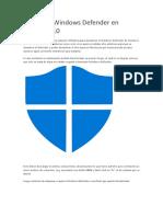 Desactiva Windows Defender en Windows 10.docx