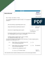 ASCE 7-10 - Rain Load Calculation