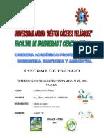 184313504 Contaminacion Por Hidrocarburos Del Rio Coata