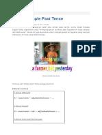 Belajar Simple Past Tense.docx