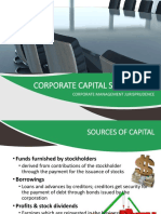 Corporate Capital Structures