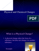 Grade 7 Reg Physical or Chemical Changes