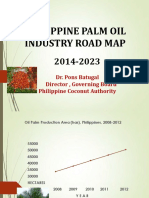 POTS Philippines Palm Oil Industry Road Map