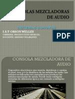 Consolas Mezcladoras de Audio Pm