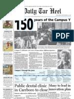 The Daily Tar Heel for September 29, 2010