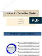 Derivative Market Lecture 2