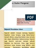 Pandangan Hadist Mengenai Sejarah.pptx