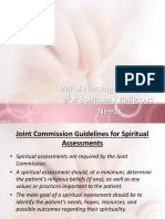 Nursing Spiritual Assessment 1