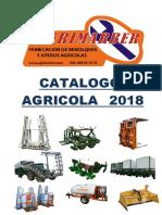 Catalogo 2018 AGRIMARBER
