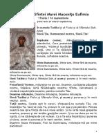 Acatistul Sfintei Marei Muceniţe Eufimia (11 Iulie)
