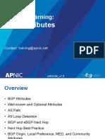 EROU04 BGP Attributes