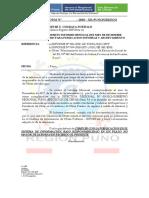 Memorandum Nro 003- Iei Nro 349 Juliaca- Dic