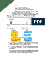 CMBR vs PFR