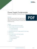 Power Supply Fundmentals
