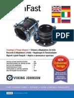 AquaFast Couplings Flange Adaptors VJ IOM Eng 08 14