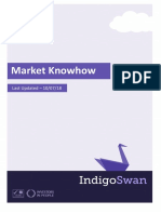 Indigo Swan - Market Knowhow - Prepared 10.07.18