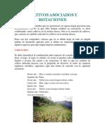 Cultivos Asociados y Rotaciones