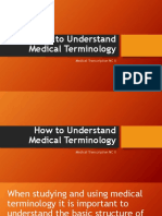 How to Understand Medical Terminology