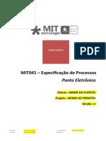 MIT041-SYMM Especificacao de Processos-PontoEletronico
