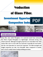 Production of Glass Fiber