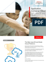 Oracle Application Container Cloud Service