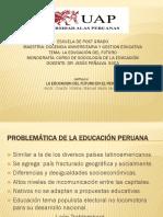 Problemática de la Educación Peruana