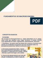 Tema 1 Fundamentos de Macroeconomia 2013-II