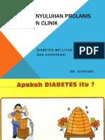 Penyuluhan Prolanis Dm Dan Hipertensi Sun Clinik