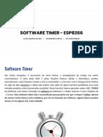 Software Timer - ESP8266