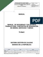 Manual de Seguridad y Salud en El Trabajo Para Contratos de Adquisión de Bienes, Servicios y Obras V1 (1)