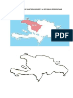 MAPAS DE LA ISLA DE SANTO DOMINGO Y LA REPUBLICA DOMINICANA EN BLANCO.docx