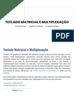Teclado Matricial e Multiplexação