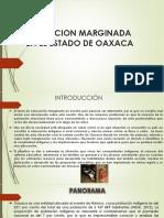 Educacion Marginada en El Estado de Oaxaca