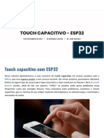 Touch Capacitivo - ESP32