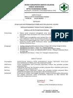9.1.2.1 Rampung , Sk Evaluasi Dan Perbaikan Perilaku Pelayanan Klinis
