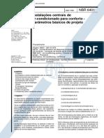 NBR 06401 - 1980 - Instalaþ§es de Centrais de Ar Condicionado.pdf