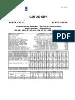 Cramaco Caracteristicas g2r 200 Sd4