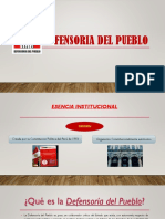 Defensoria Del Pueblo - Diapositiva