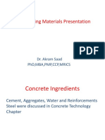 Engineering Materials Presentation