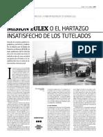 Misión EULEX o el hartazgo insatisfecho de los tutelados