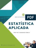 Livro pdf - Estatística Aplicada (Inferência) - Prof MSc Uanderson Rebula